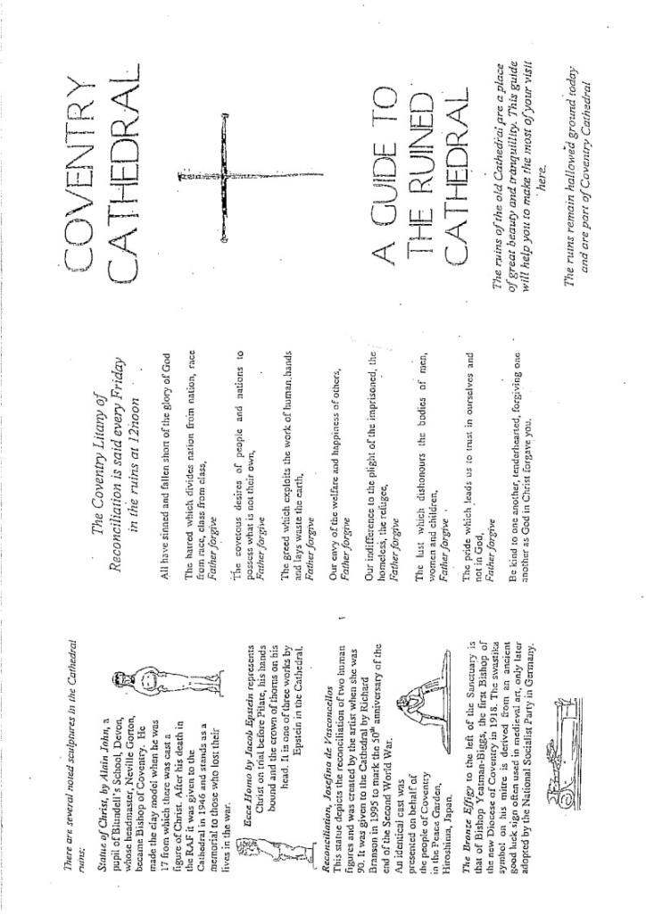Task 2: Research on Coventry Cathedral